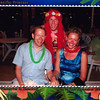 "Oh Frankie!! :-) There's ""Pacific Princess's"" Assistant Cruise Director and us having a bit of fun during our ""Island Night"" party!!"