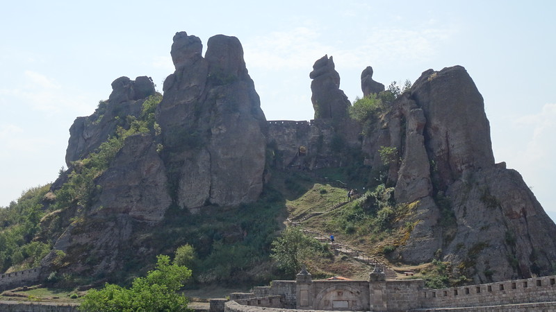 "After leaving the Fortress we headed an hour outside of town to ""Belogradchik"" to visit their very unique Rock Formations... for those who were able to get around no problem we enjoyed the short hike up to the top... very Beautiful views up there!"