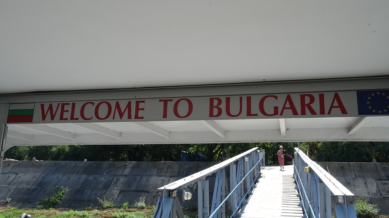 Once we ended our time in Bucharest we headed a little over an hour outside of the city to board our ship in Oltenita, Romania... after sailing a few hours that evening the next morning we awoke in Rousse to get our 1st taste of Bulgaria.