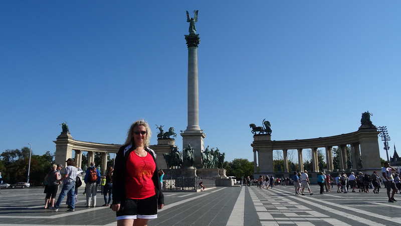 "Our final stop of our 6 night sailing took us to Beautiful Budapest, Hungary... one of our favourite European Cities for sure!!<br /> <br /> While there we saw sites like above called  ""Heroes Square""..."