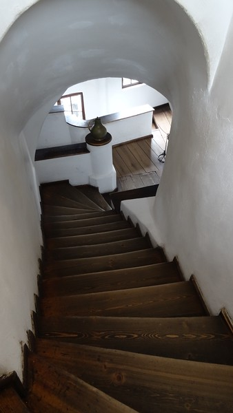 Another thing to keep in mind for this tour is that to get up to the Castle you need to walk up a steep ramp and then once inside there's up & down lots of steep narrow stairs like these so if you have any walking issues it may be too difficult.