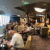 It probably seems like we're making a BIG deal about our private lounge but as we mentioned earlier this ship was REALLY busy so it was nice to not have to face lounges like this all the time that were full & where it took A LONG TIME to get a drink!!