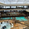 """Same with the covered """"Main"""" pool area onboard... it was ALWAYS busy with every chair full, the hot tubs were always full & there were LOTS of kids everywhere you turned! There were no Adult-Only solariums onboard like say, Celebrity Cruises, offers.<br /> <br /> Due to the price point though not a lot of families end up in the Yacht Club area and those that are there the kids are VERY well behaved! :-)"""