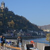 And as we sailed away, Cochem kept treating us to more & more beautiful scenes. :-)