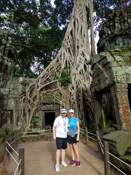 """If you've seen """"Tomb Raider"""" with Angelina Jolie you'll recognize this seen from the """"Jungle Temple"""", it was truly something else!"""