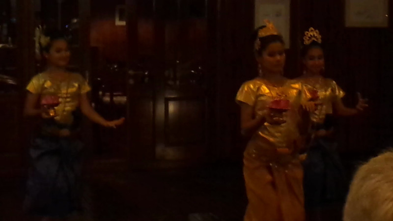 "While on the ""River Orchid"" one evening we had some children from a Cambodian Orphanage come onboard to do a show for us... that was definitely very special!<br /> <br /> Click ""Play"" to see how intimate a venue it is when you Cruise with such few others guests onboard... very nice! :-)"