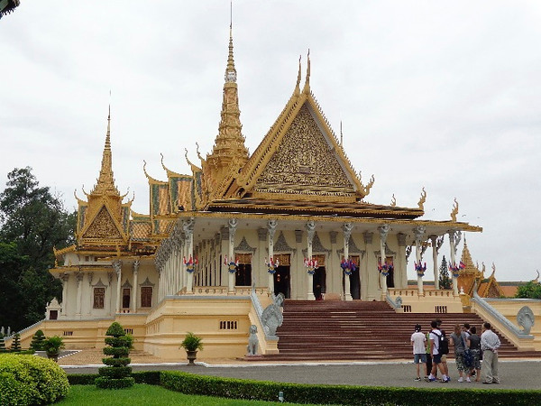 "For sure a highlight in Phnom Penh is visiting the Royal Palace complex which is the residence of the King of Cambodia... there's the ""Throne Hall"" that highlights the complex."