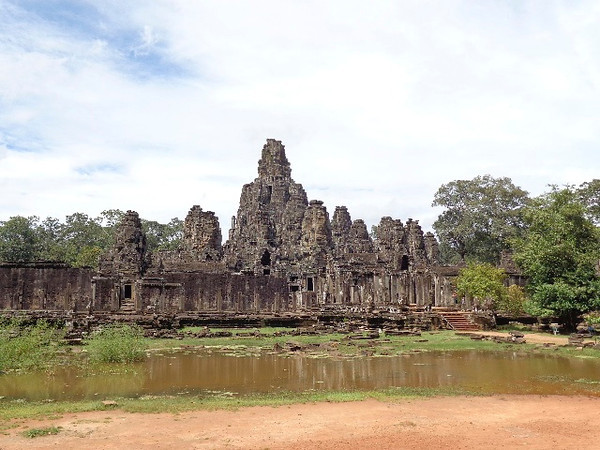 "Absolutely gorgeous in it's own right, there's a look at the ""Bayon"" temple which is the centerpiece of ""Angor Thom"" which translates as ""the great city""!"