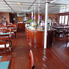 "There's the dining room where we enjoyed breakfast, lunch & dinner each day onboard including many specialties from the areas we were visiting... can you say ""Yummy""!! :-)"