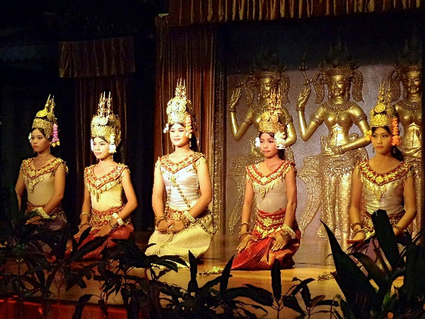 "After a great day exploring Angkor Wat & Angkor Thom, we were treated to a special evening of great food and a traditional ""Aspara"" Dance show... overall it was definitely a great day for two travel lovers!!"