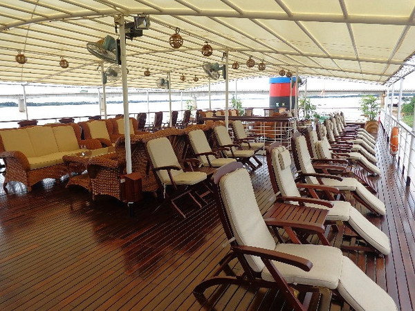 "There's a great place on the ""Orchid"", the Sundeck... you can chill there during the days & watch the beautiful views go by & then enjoy a nightcap there each evening while getting to know fellow passengers."