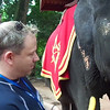And the riding the Elephant wasn't the only highlight... feeding him afterwards was pretty spectacular too! :-)