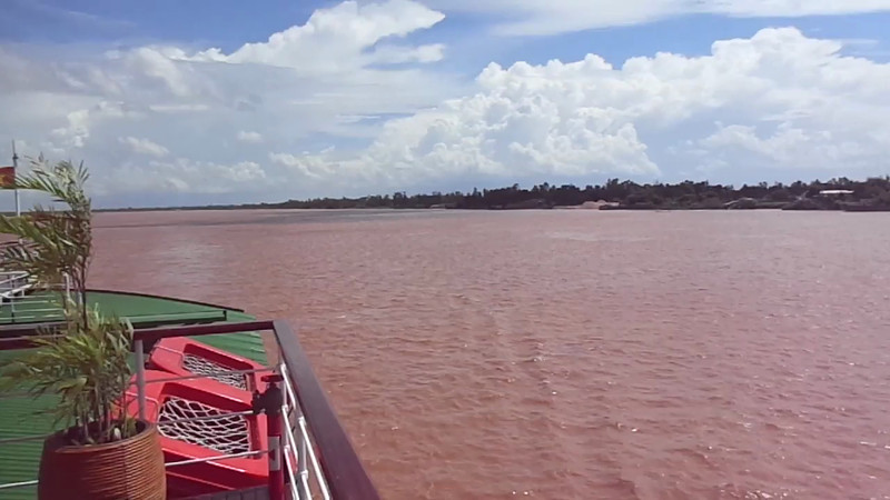 """Definitely a highlight of any River Cruise is enjoying an afternoon relaxing in the Breeze & enjoying the views... click """"Play"""" to see what this is like when sailing on the Mekong River in Vietnam & Cambodia."""