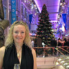 """One more look at the """"Royal Promenade"""" and the huge Christmas Tree... between all that & Nancy you have to admit, that's one Pretty picture!! :-)"""