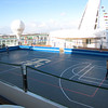 "And don't get us wrong, the ""Mariner"" isn't just pretty, she has tons of stuff to do onboard too!  Here's the Sports Court where you can play Basketball, Soccer, Ball Hockey, Dodge Ball, etc.  And don't worry adults, you're invited too! :-)"