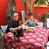 """When in Mexico you just have to stop and have a """"Cerveza"""" or 2 and some Nachos & Guacamole... you just have too!! :-)"""