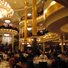 """Definitely one of the nicest Dining Rooms at Sea (and anywhere for the matter), check out this Video footage of the 3 storey  """"Top Hat & Tails"""" Dining Room."""