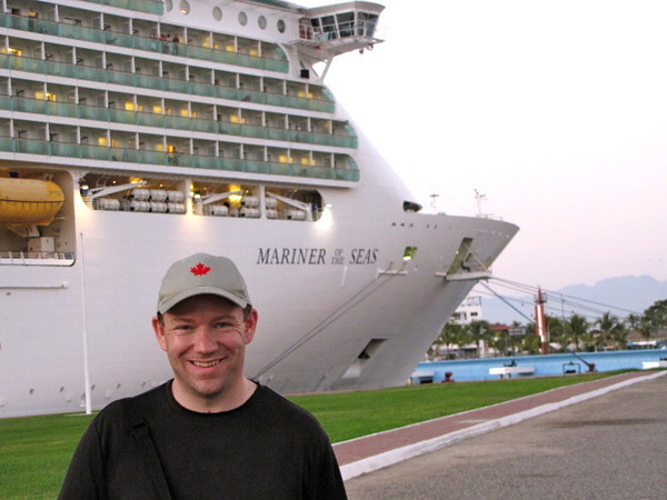 "Well, here we are about to get back on the ""Mariner"" and start heading back to San Pedro... looks like Shawn has definitely enjoyed his time in Mexico!! :-)"