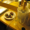 "As we've mentioned in many of our Albums, Cruising is a great way to Celebrate Special Occasions!!  Here's a glimpse of a little ""Romance"" package we bought for ourselves complete with Champagne, Chocolate covered Strawberries, a framed Photo & Breakfast in Bed... very nice!! :-)"