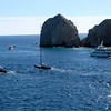 One thing there's no lack of in Cabo is water activities... you can sail, sport-fish, kayak, snorkel, para-sail, etc.  With such Beautiful waters & weather there it's the perfect setting to play in the Ocean!! :-)
