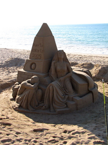 Like this for instance... 100% made out of Sand... pretty Cool!! :-)