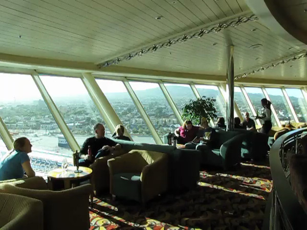 "Here's some Video footage of one of the nicest areas on the Ship... the ""Viking Crown Lounge""... where you can enjoy a cocktail, socialize with new found friends, check out the Gorgeous views, etc."