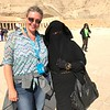 One thing we loved about Egypt was meeting the locals... many times people would come up & ask to have their picture taken with us as they're fascinated by our blue eyes & blond hair... but of course, we're just as fascinated by them, the outfit this girl wore who Nancy got her pic with was absolutely gorgeous with it's gold trims and beautiful materials!