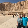 "Right around the corner from the Valley of the Kings was ""Queen Hatshepsut's"" Temple... we know we keep saying this but Egypt is truly one impressive site after another, after another!"