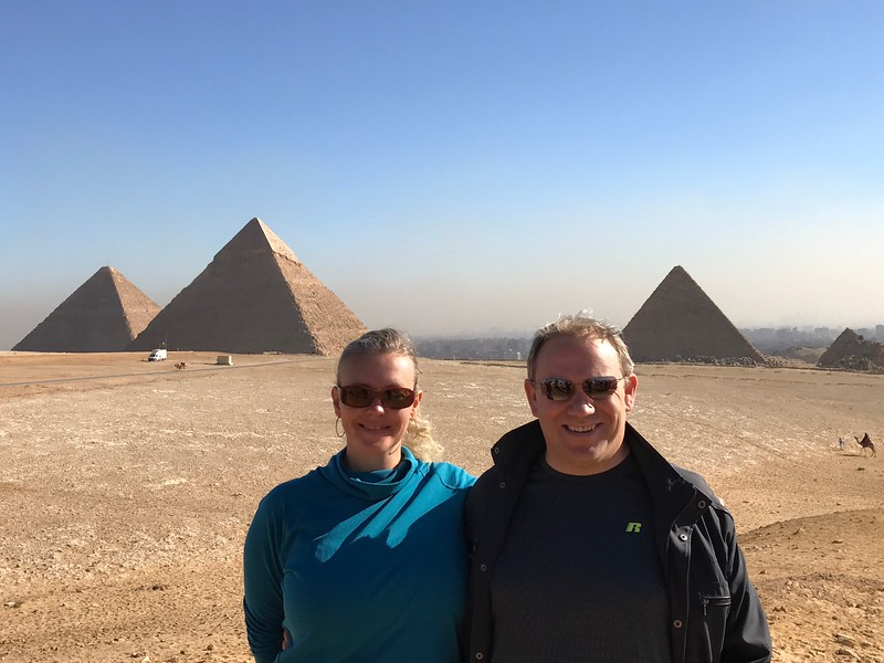 The Pyramids are truly, truly an amazing site to see in person... we could snap 1,000 pictures for you and you still would never get a feel for how magnificent they are till you go visit yourself!!