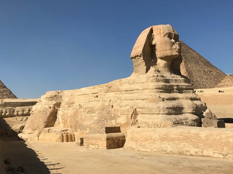 """Not to be outdone the """"Great Sphinx"""" was a super impressive site as well!!"""