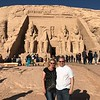 Now we just said yesterday was a great day but today was an exceptional one as we took a 45min flight from Aswan to Abu Simbel to see Egypt's most famous temples.<br /> <br /> FYI, this is an optional tour with Uniworld for $295 per person... in our minds it's a must do so we'll be lobbying to Uniworld to include this in the price and simply charge a bit more up front as we don't think anyone should miss a visit here!