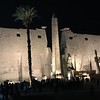 There's Luxor Temple's fabulous entrance-way at night... it really was an impressive site to experience and a good one to start our time off in Luxor.