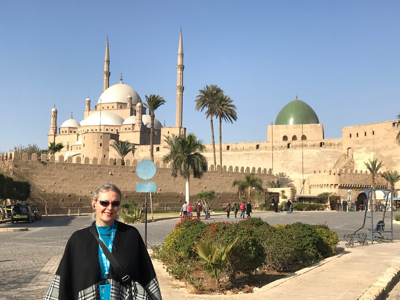 """Cairo is a sprawling city that's so big & busy just experiencing that is an attraction of itself... but of course it had some highlights for us to explore during our time there like the above """"Citadel of Salah al-Din"""" which was home to Egypt's rulers for more then 700 years."""