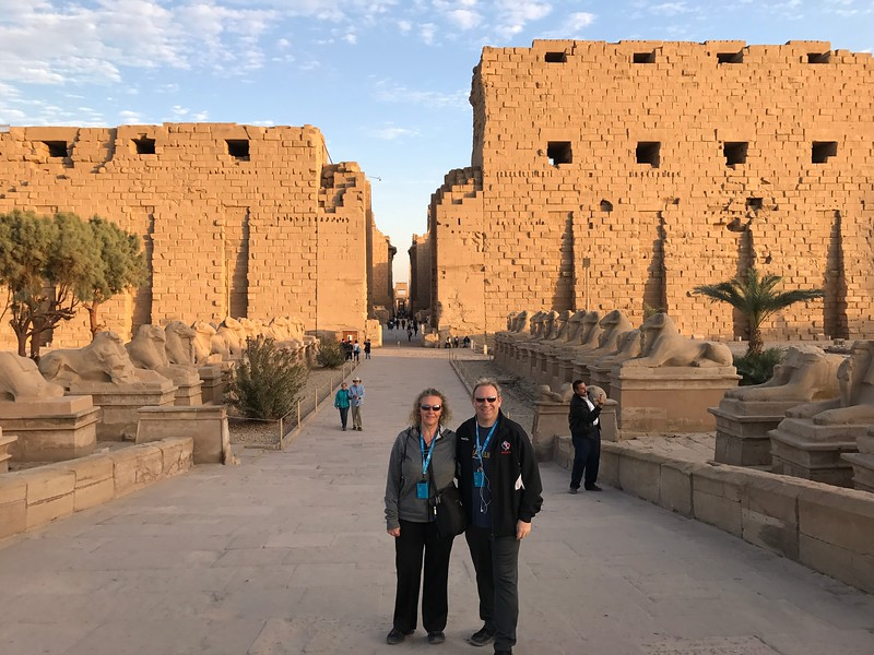 "Later that day we visited one of the biggest temples on earth, Luxor's famous ""Karnak Temple""... pictures & words truly don't describe how amazing these places are, you've got to get yourself over there to experience these sites in person!!"
