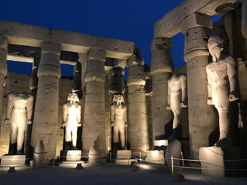 But of course back inside the Luxor Temple was impressive site after impressive site like above!