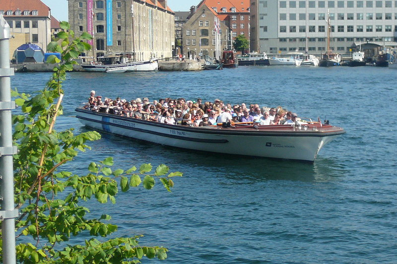 "A common site in Nyhavn is the Canal ride boats coming and going as this is a main area where they start/stop. The canal ride in Copenhagen was truly the highlight of the City for us... a great Tour!! We recommend taking it from ""Gamla Stan"" though as you get to go through one extra canal area which enhances the tour!"