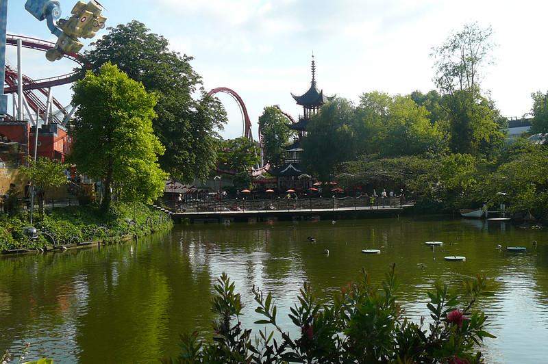 """Gardens, an Amusement Park, dozens of Restaurants, """"Tivoli"""" has it all!!"""