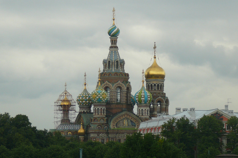 "There's the Beautiful ""Church of Spilled Blood""."