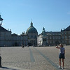 "There's the Square at the ""Amalienborg Palace""... this is still the official home of the Danish Royal family... it definitely does look like it's good to be king. :-)"