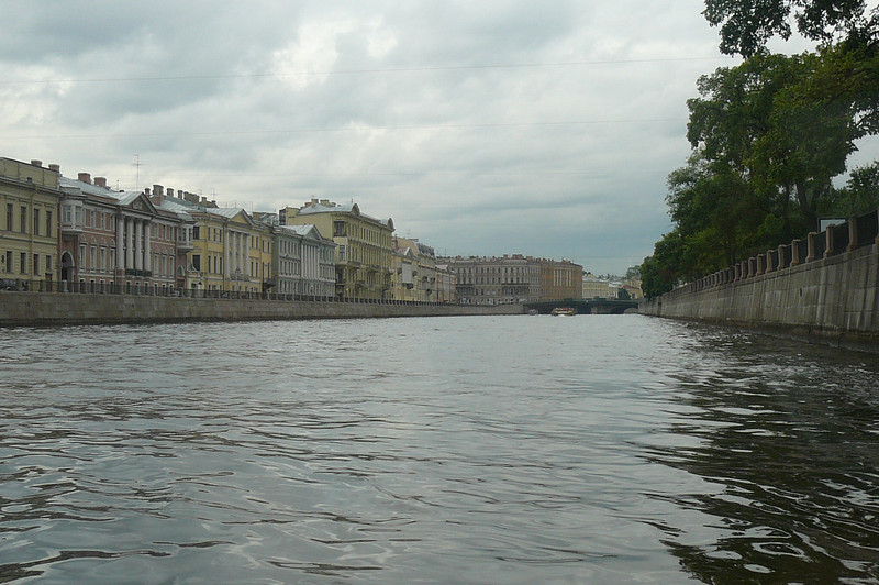 We also took a Canal Ride in St. Petersburg during our time there... here's a glimpse. :-)