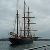 "Check out this Ship we saw while on our ""Canal"" Tour... definitely not your standard sailing boat! :-)"