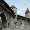 "Here's a glimpse of an Original section of the ""City Wall"" that used to surround Tallinn in Medieval Times."