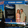 "Here we are boarding Cruise # 15... our 1st ever Europe Cruise to none other then Northern Europe to explore Scandinavia & Russia with ""Azamara"" Cruiseline... what an amazing 12 nights we're going to have!!"