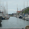 "A common site during a Copenhagen ""Canal"" boat tour... it seems as if everyone in Copenhagen has their own boat. :-)"