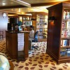 """Lazy Day"" & you want to simply read a book, listen to a good audio book or watch a Movie... that's all available at Crystal's onboard Library.<br /> <br /> They had over 2,000 movies in their collection... WOW!"