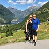 Besides the amazing Fjord, Geiranger itself had lots of Beauty surrounding this tiny village so we hiked up the nearest hill we could find to take in the views of the town/Fjord below.