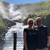 "...but for sure the highlight was our stop at the ""Kjosfossen"" Waterfall... as you'll see in the video in our next slide... super impressive!!"