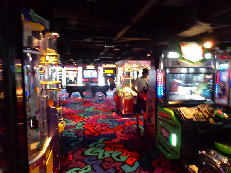 Want some Fun indoor action... then make sure to check out the video games arcade.