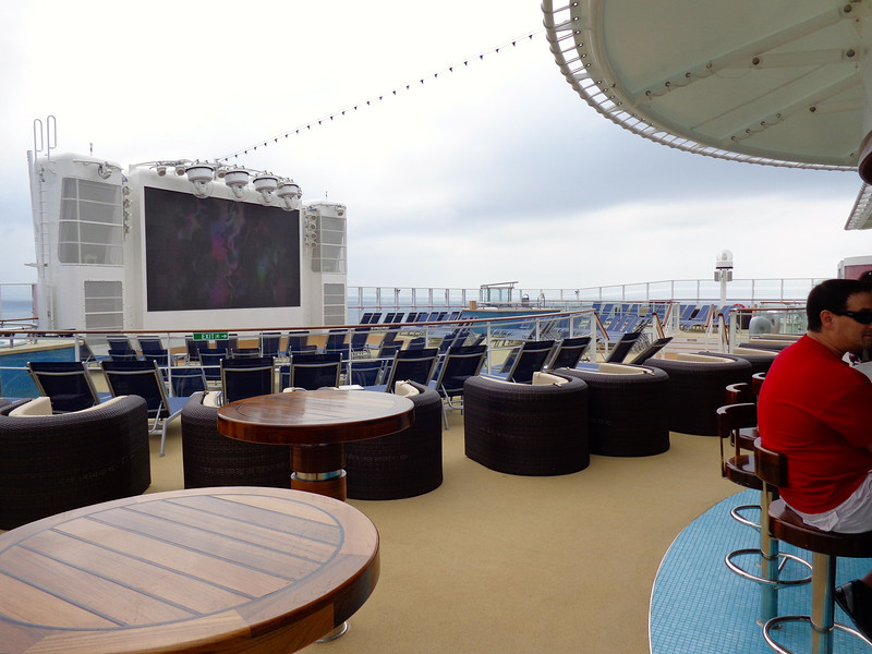 "Here's a fun area of Breakaway for the adults who like to let loose... it's called ""Spice H2O"" and it's at the very back of the ship and where they have themed parties during select nights of the Cruise and where you can watch Norwegian's 1st ever fireworks shows at sea on all their sailings."