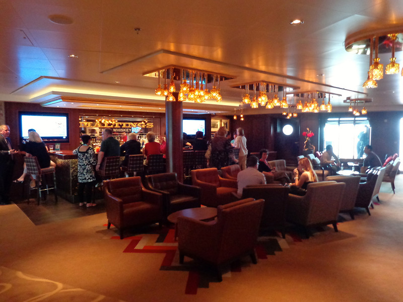 "There's ""Maltings Beer & Whiskey Bar"" on Breakaway... it was the busiest lounge every-night while we were onboard so if you want to socialize, see or be seen, then head here!"